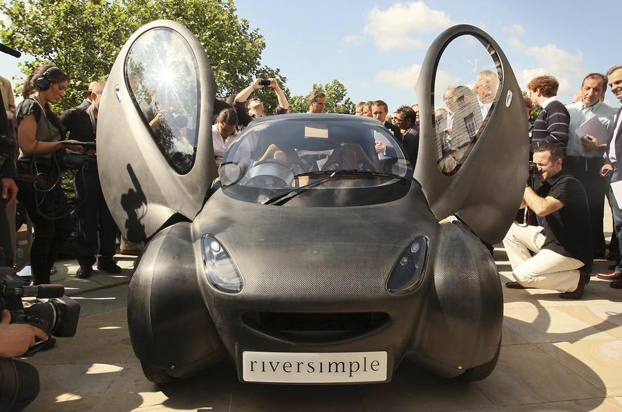 Официальная публикация нового электромобиля bmw i3