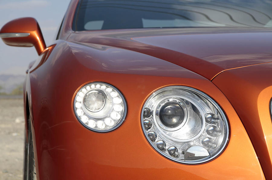 Bentley Continental GT headlights