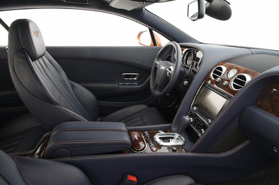 Bentley Continental GT interior