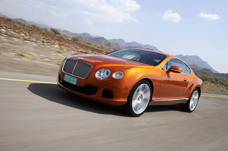 Bentley Continental GT front quarter