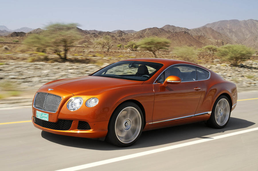 198mph Bentley Continental GT