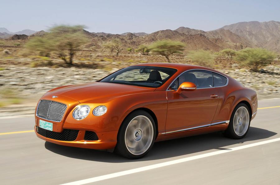 198mph Bentley Continental GT