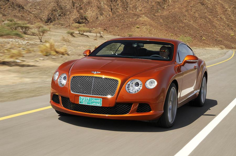 567bhp Bentley Continental GT