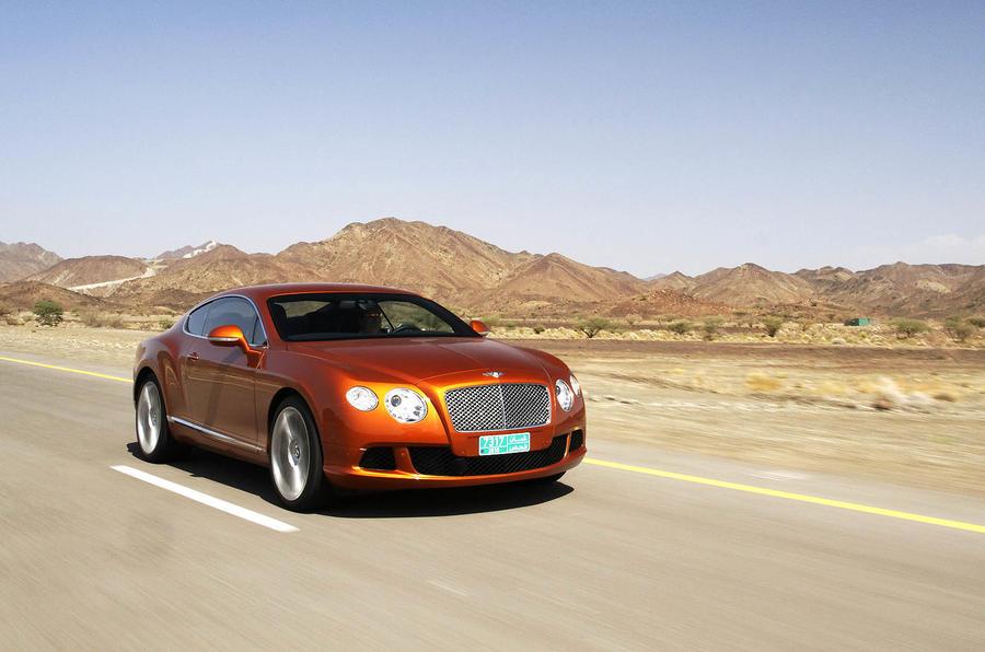 Bentley Continental GT front quarter