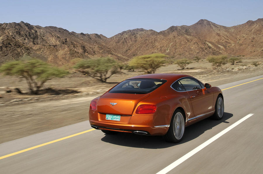 Bentley Continental GT rear