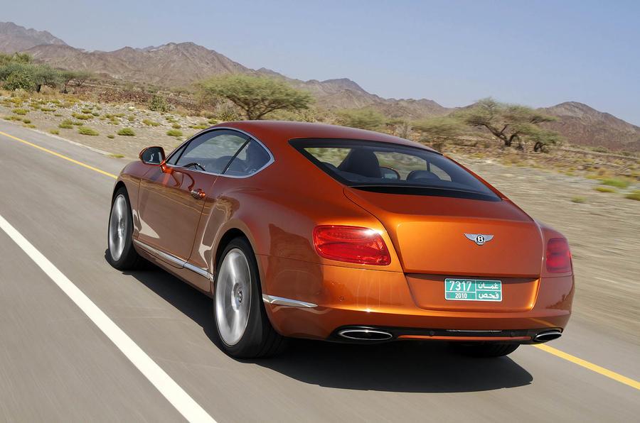 Bentley Continental GT rear quarter