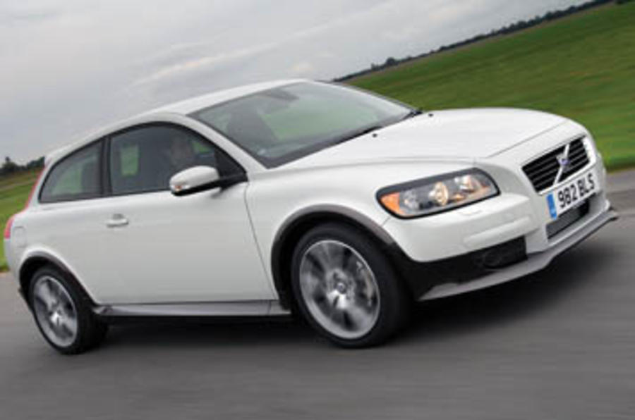 volvo c30 d5 se sport geartronic review autocar. Black Bedroom Furniture Sets. Home Design Ideas