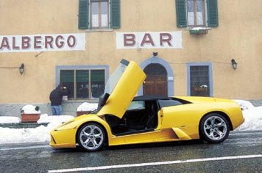 ... Lamborghini Murcielago Roadster ...