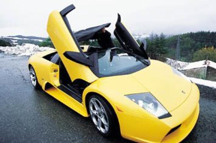 ... Lamborghini Murcielago Roadster; Lamborghini Murcielago Roadster