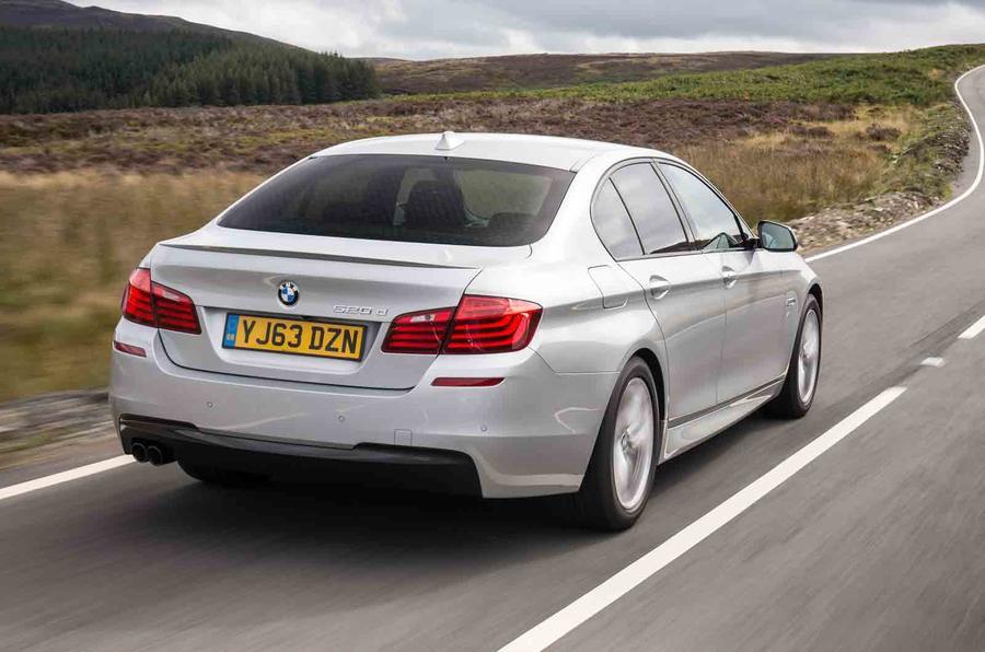 BMW 518d SE rear
