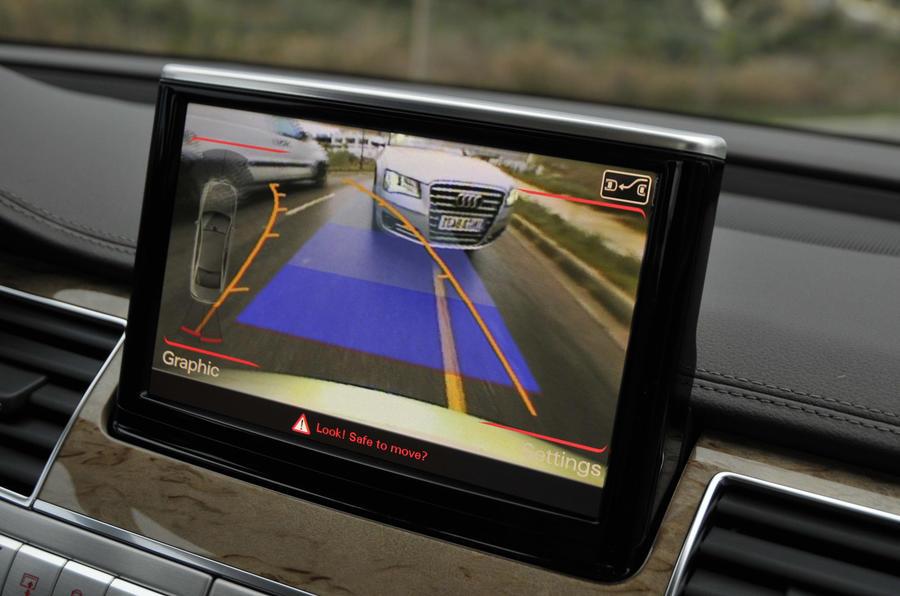 Audi A8 MMI infotainment