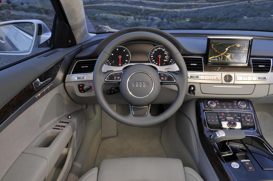 Audi A8 4 2 Tdi Quattro Review Autocar