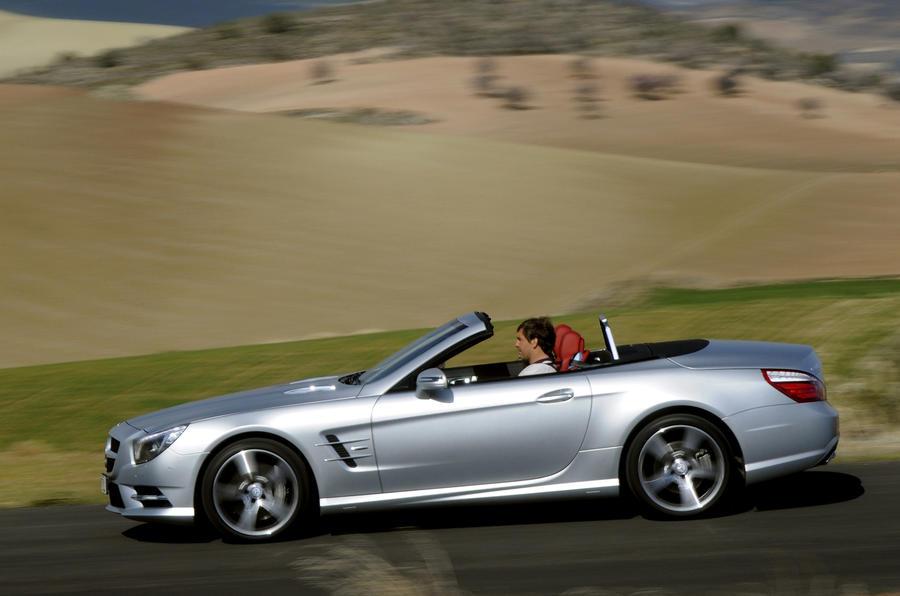 155mph Mercedes-Benz SL 500