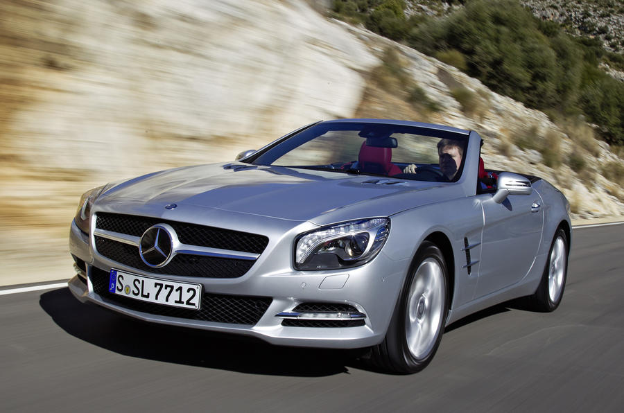mercedes benz sl 500 review autocar. Black Bedroom Furniture Sets. Home Design Ideas