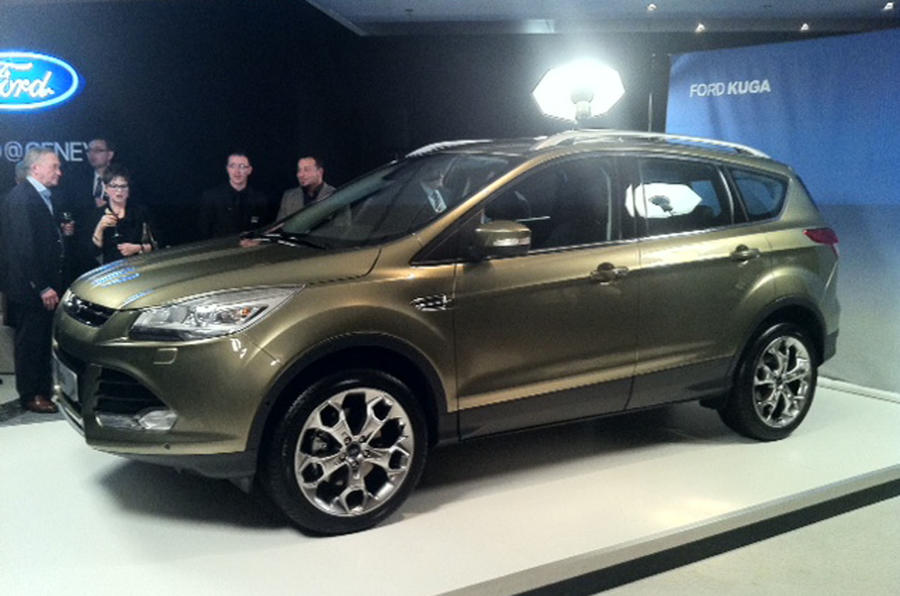 Geneva 2012: Ford Kuga