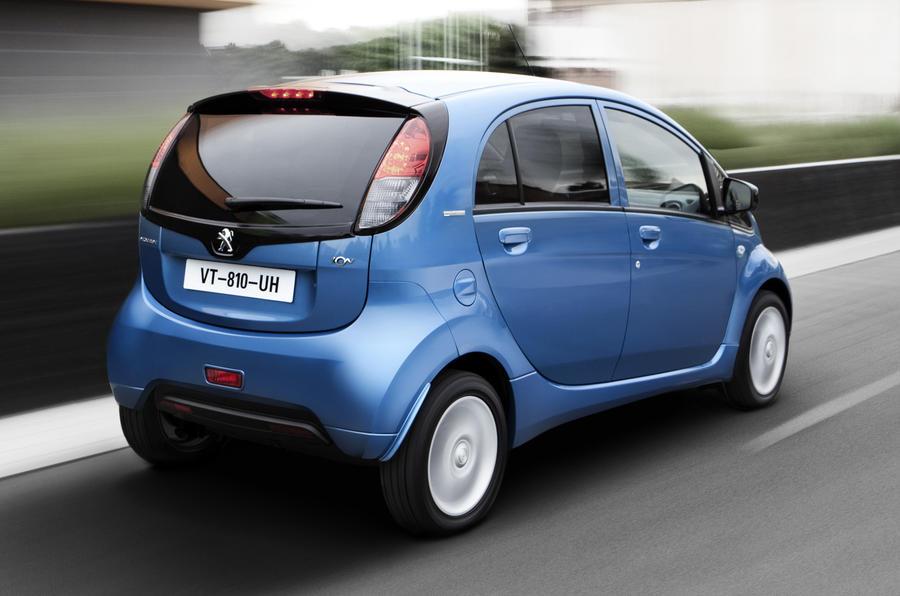 Peugeot iOn rear