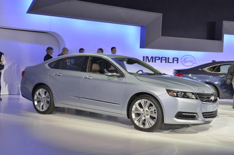 New York show: Chevrolet Impala