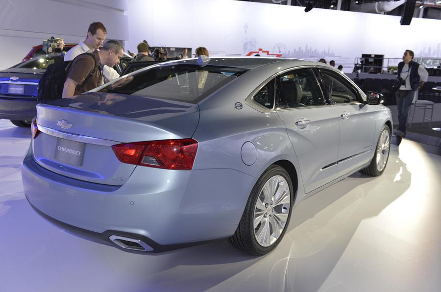 New York show: Chevrolet Impala