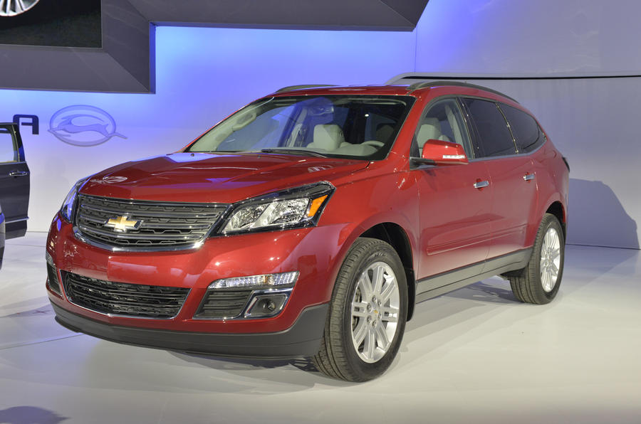 New York show: Chevrolet Traverse