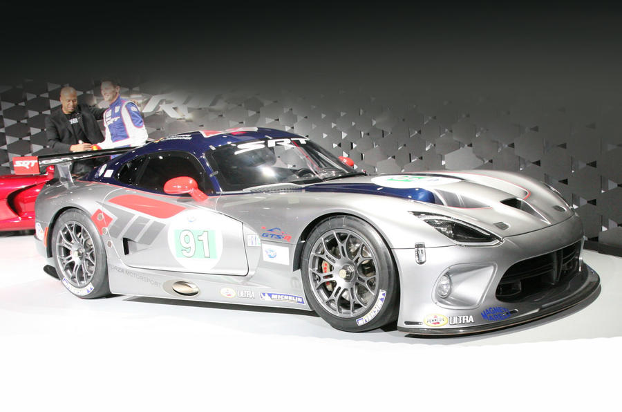 New York motor show: Dodge Viper