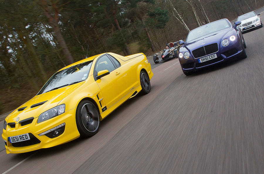 The V8 and the V great: V8 mega-test