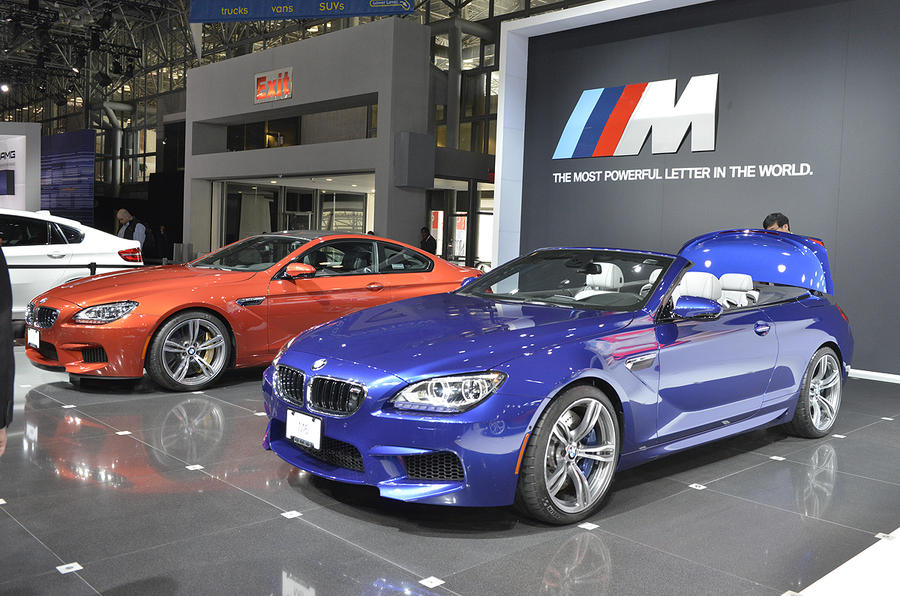New York show: BMW M6