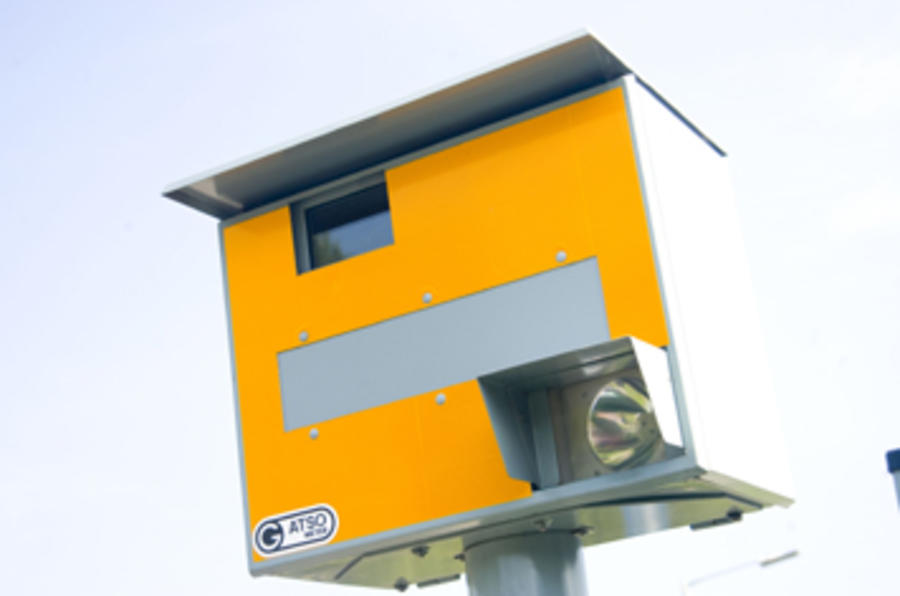 Speed camera funding axed