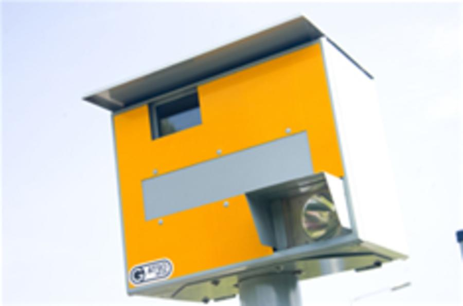 London speed camera budget cut