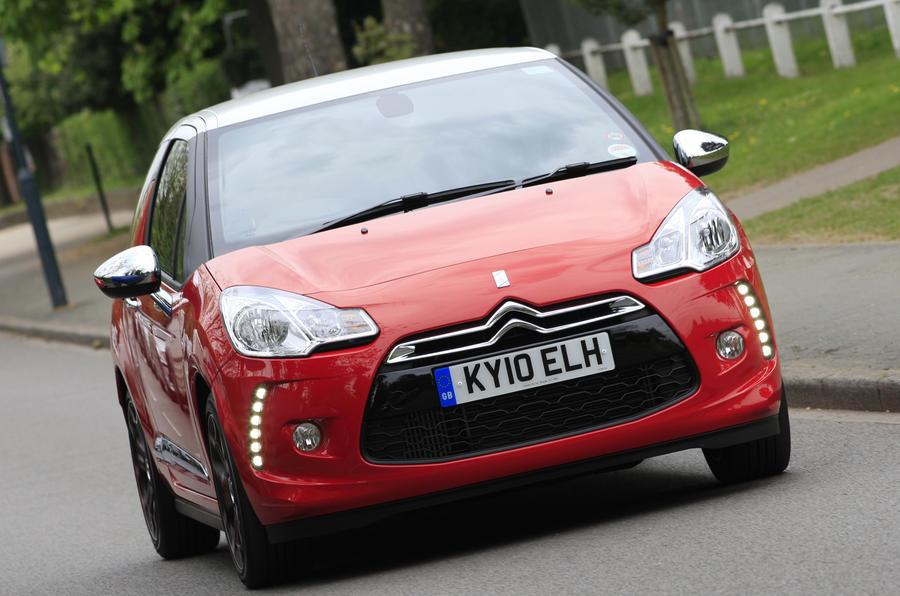 Citroën DS3 cornering