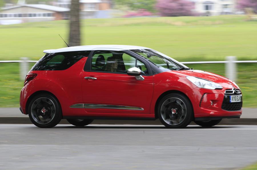 Citroën DS3 side profile