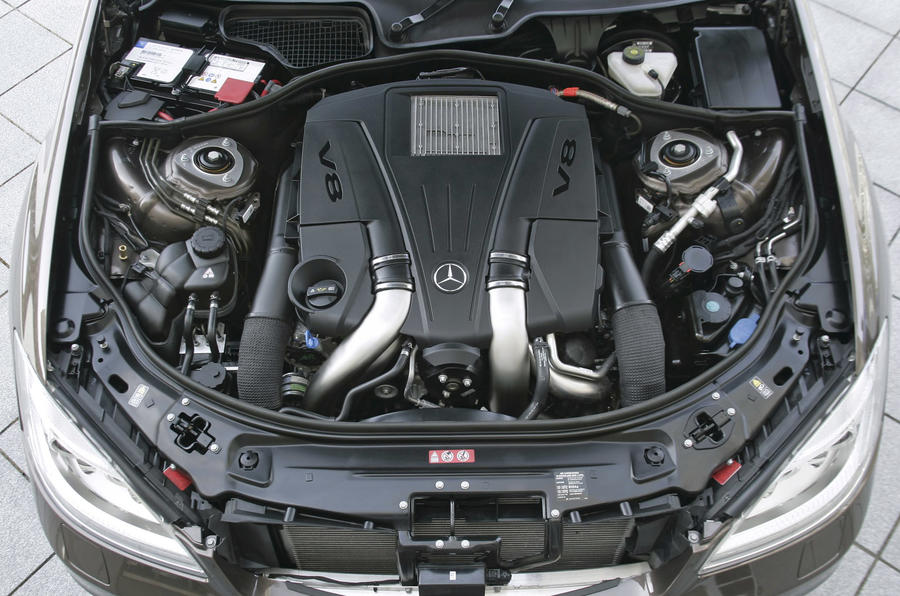 Merc's new V6 and V8 engines