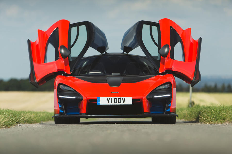 McLaren Senna 2018 road test review - static hero