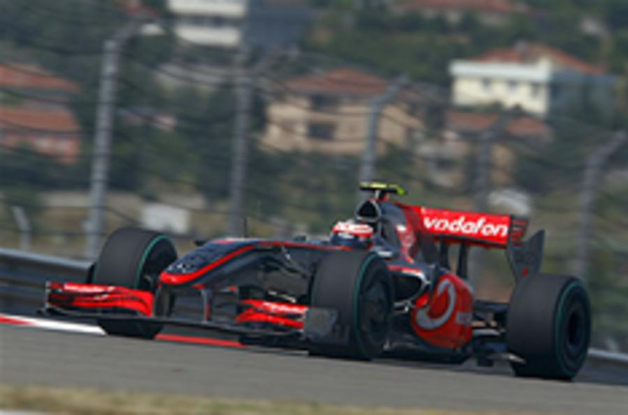 Kovalainen sets pace in Turkey