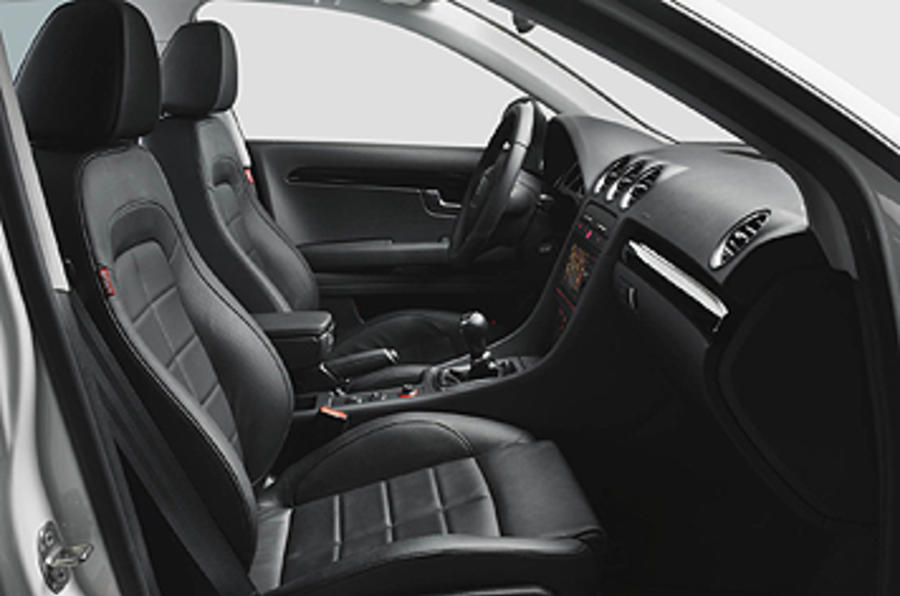 Seat Exeo ST front seats