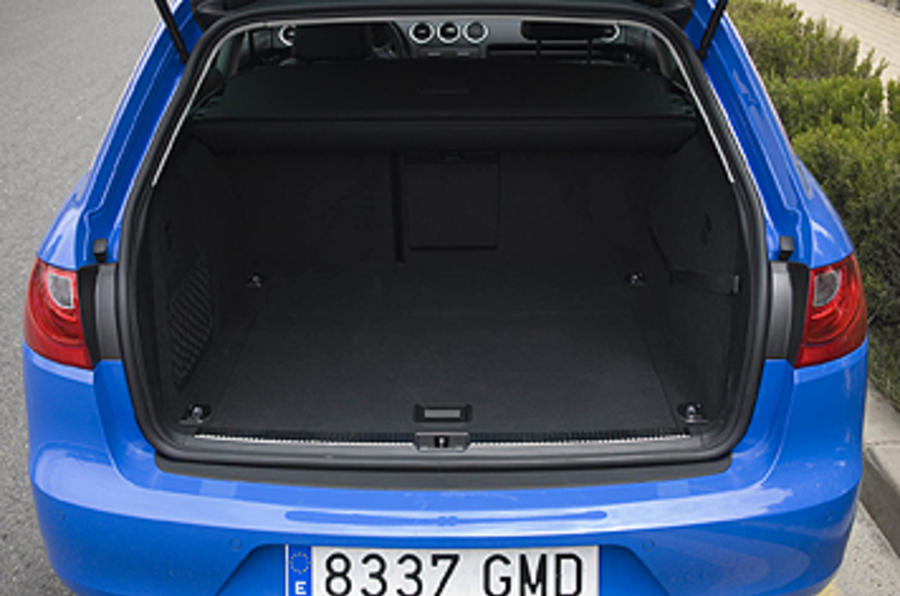 Seat Exeo ST boot space