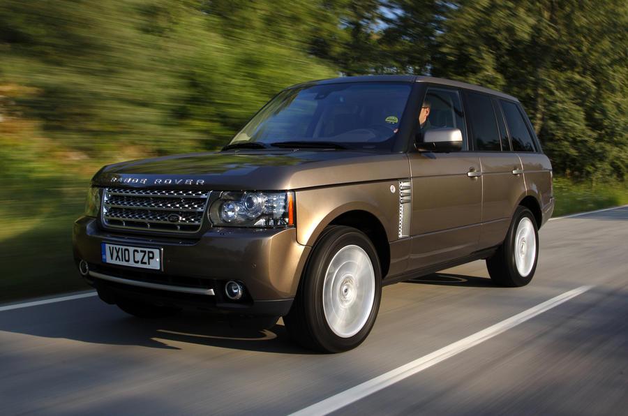 Range Rover TDV8 front quarter