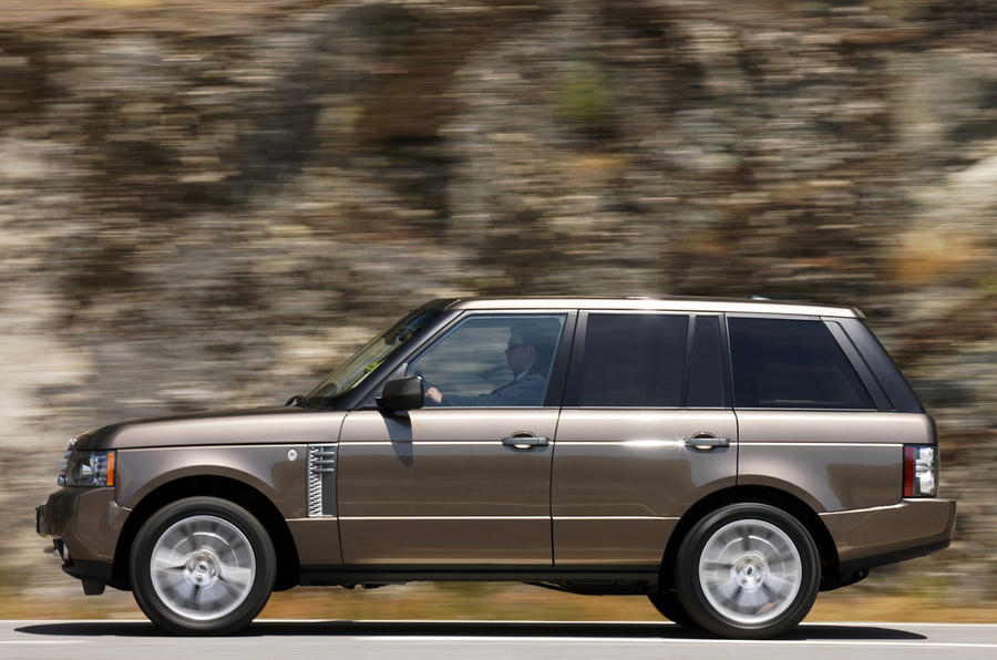 Range Rover TDV8 side profile