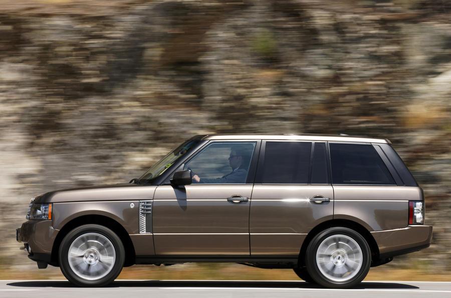 Range Rover TDV8 side profile