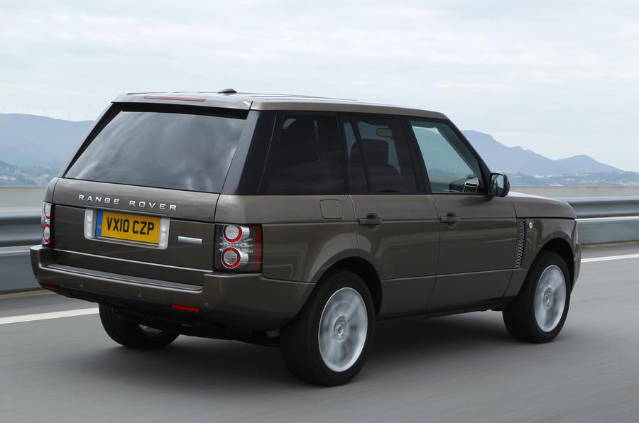 Range Rover TDV8 rear