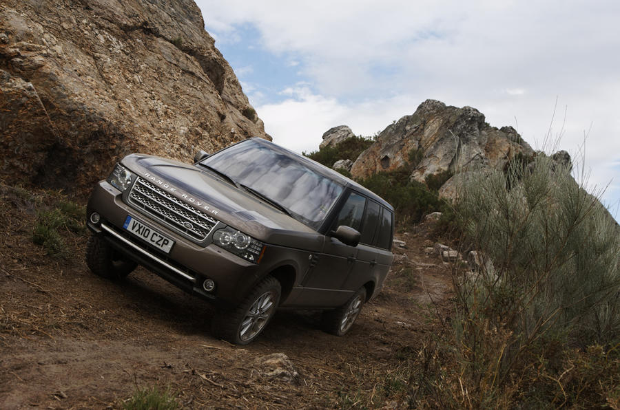 Range Rover TDV8 off-roading