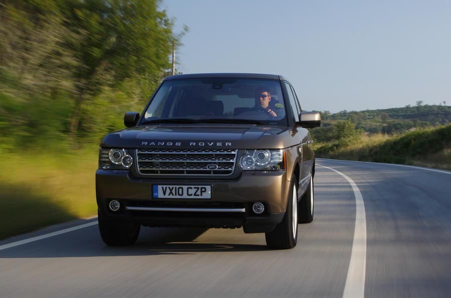 Range Rover TDV8 on-road