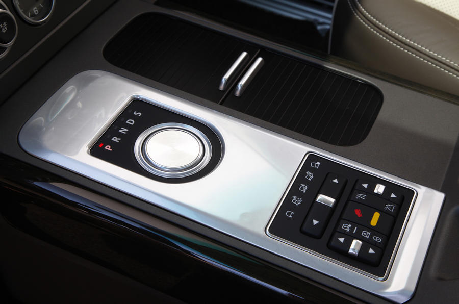 Range Rover TDV8 automatic gearbox