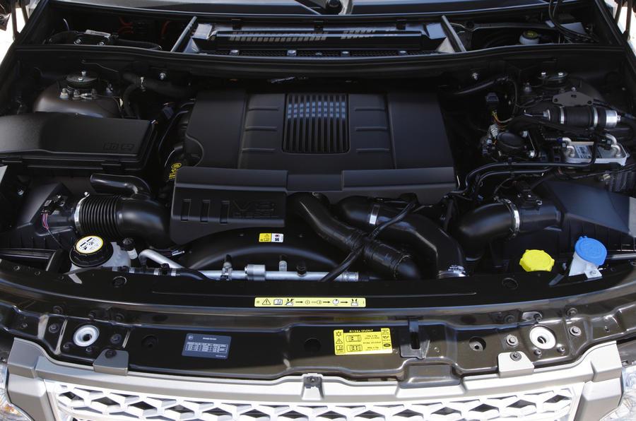 4.4-litre TDV8 Range Rover engine