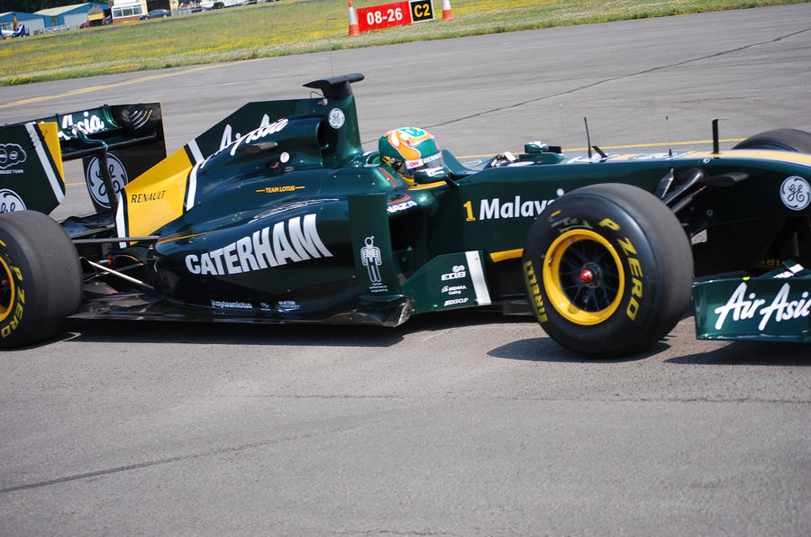 Caterham enters F1