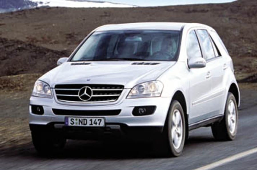 mercedes benz ml 420 cdi review autocar. Black Bedroom Furniture Sets. Home Design Ideas