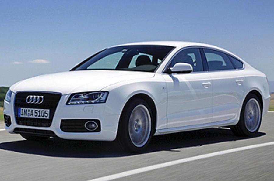 Audi A5 Sportback front quarter