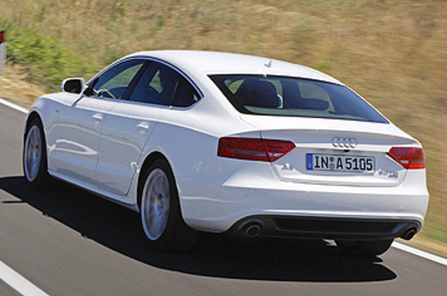 Audi A5 Sportback rear quarter