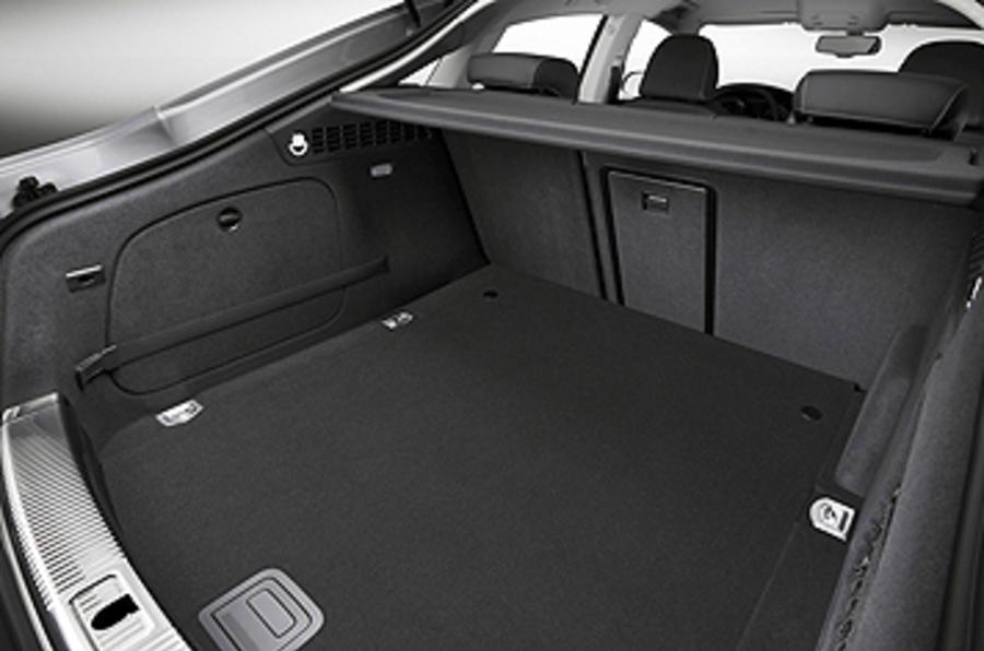 Audi A5 Sportback boot space