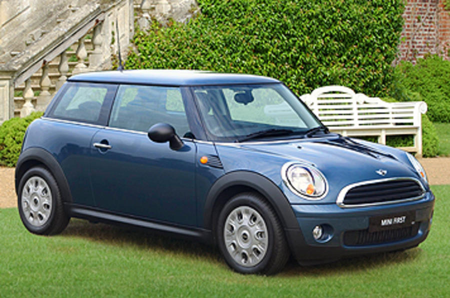 Mini First front quarter