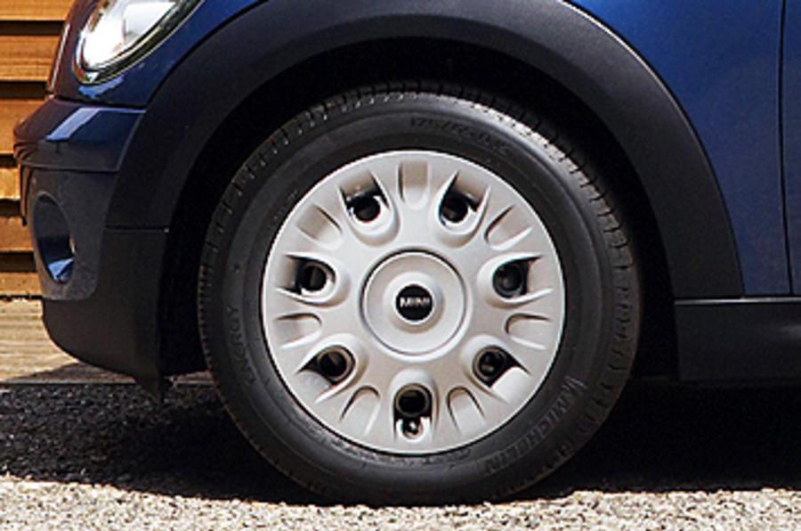 Mini First steel wheels